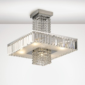 Ophelia Crystal Ceiling Lights Diyas Modern Crystal Ceiling Lights