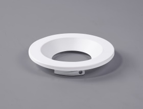 Beck 11 FR Recessed Ceiling Luminaires Dlux Round Recess Ceiling