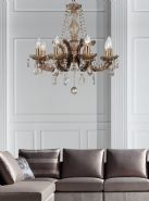 Gabrielle Crystal Ceiling Lights Deco Contemporary Chandeliers