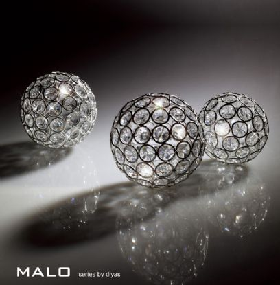 Malo Crystal Accessories Diyas Home Tea Light Holders