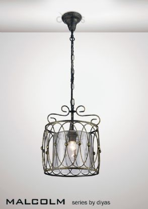 Malcolm Ceiling Lights Diyas Single Pendant