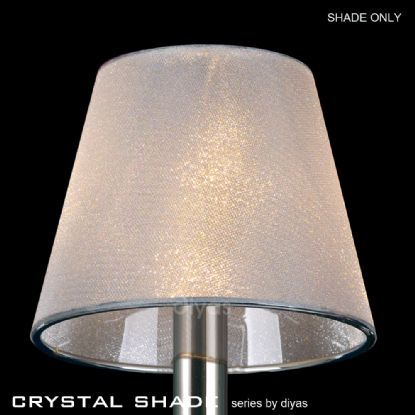 Shades Glass Crystal Shades Diyas Clip-On Shades