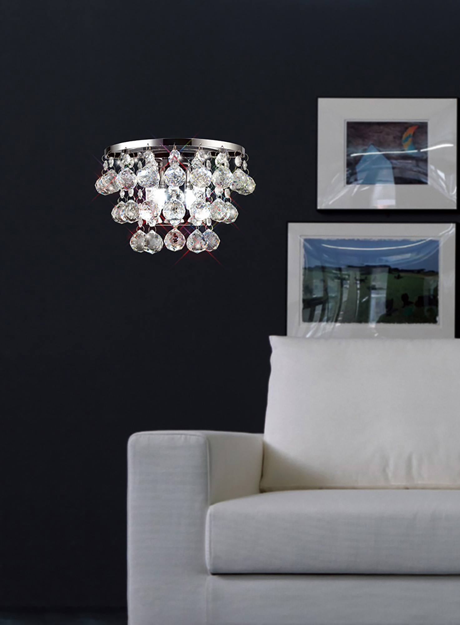 Tara Crystal Table Lamps Diyas Contemporary Crystal Table Lamps