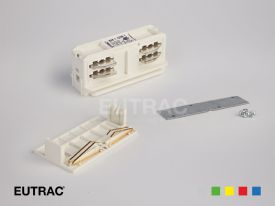 3 Circuit Recessed/DB Tracks And Accessories Eutrac Triple Circuit Track With Data