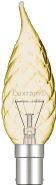 Candle Tip Twisted Incandescent Luxram Decorative Candle