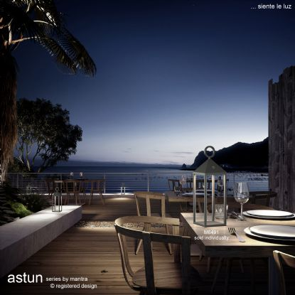 Astun Exterior Lights Mantra Fusion Exterior Table Lamps