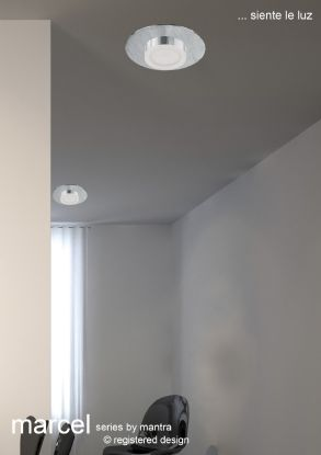 Marcel Bathroom Lights Mantra Flush Fittings