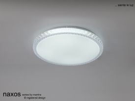 Naxos Ceiling Lights Mantra Fusion Flush Fittings