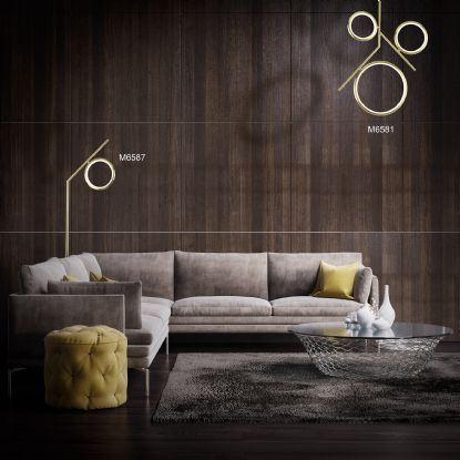 Olimpia SG Wall Lights Mantra Contemporary Wall Lights