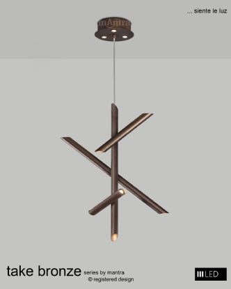 Take Bronze Ceiling Lights Mantra Contemporary Ceiling Lights