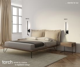 Torch Floor Lamps Mantra Fusion Modern Floor Lamps