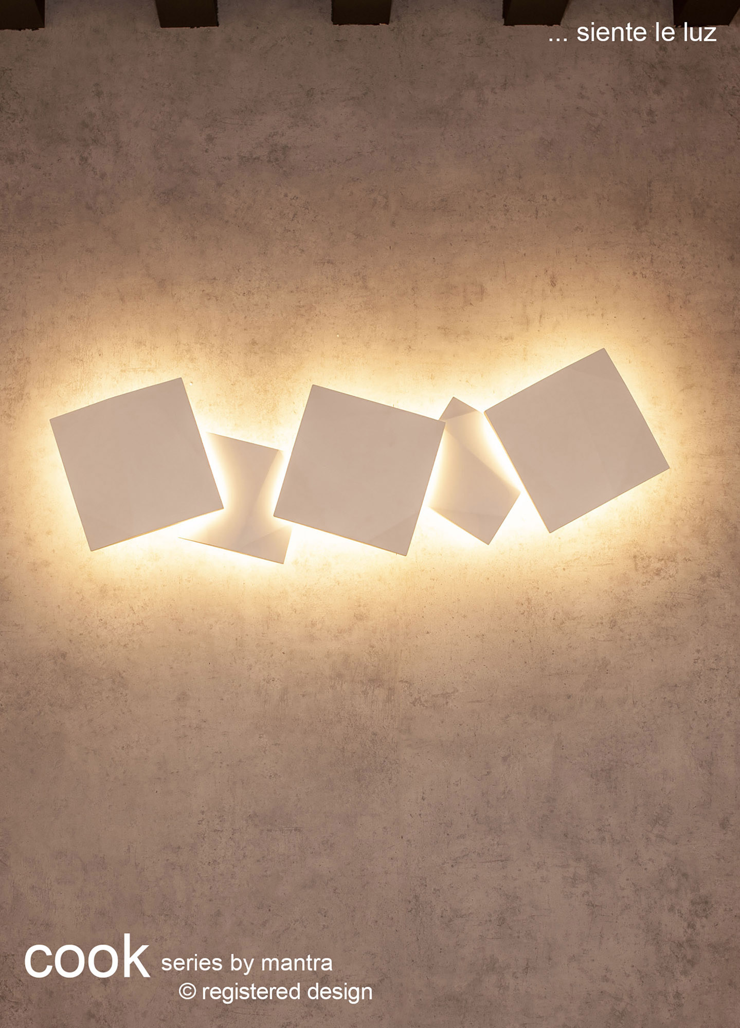 Cook Wall Lights Mantra Flush Wall Lights