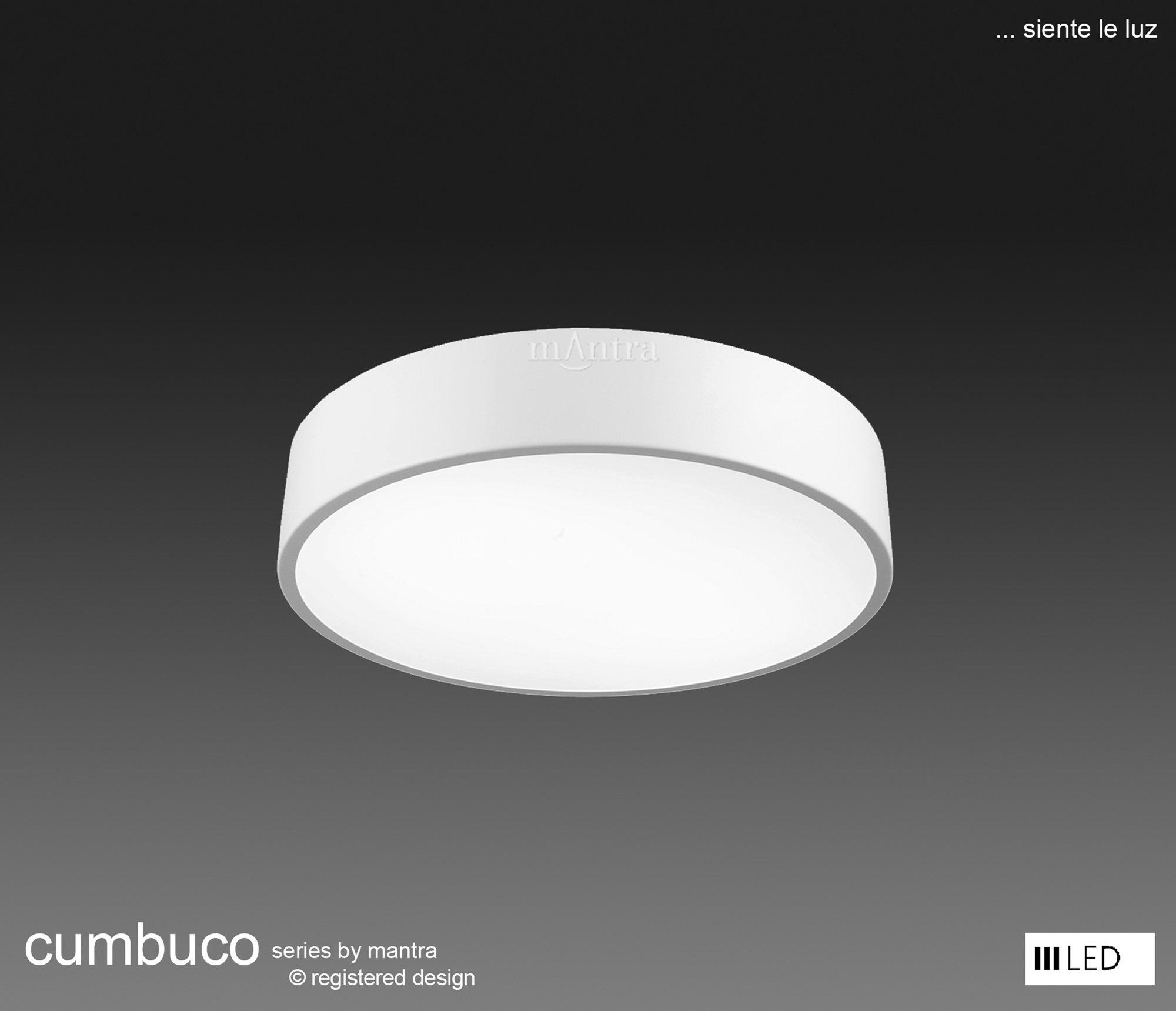 Cumbuco Ceiling Lights Mantra Fusion Flush Fittings