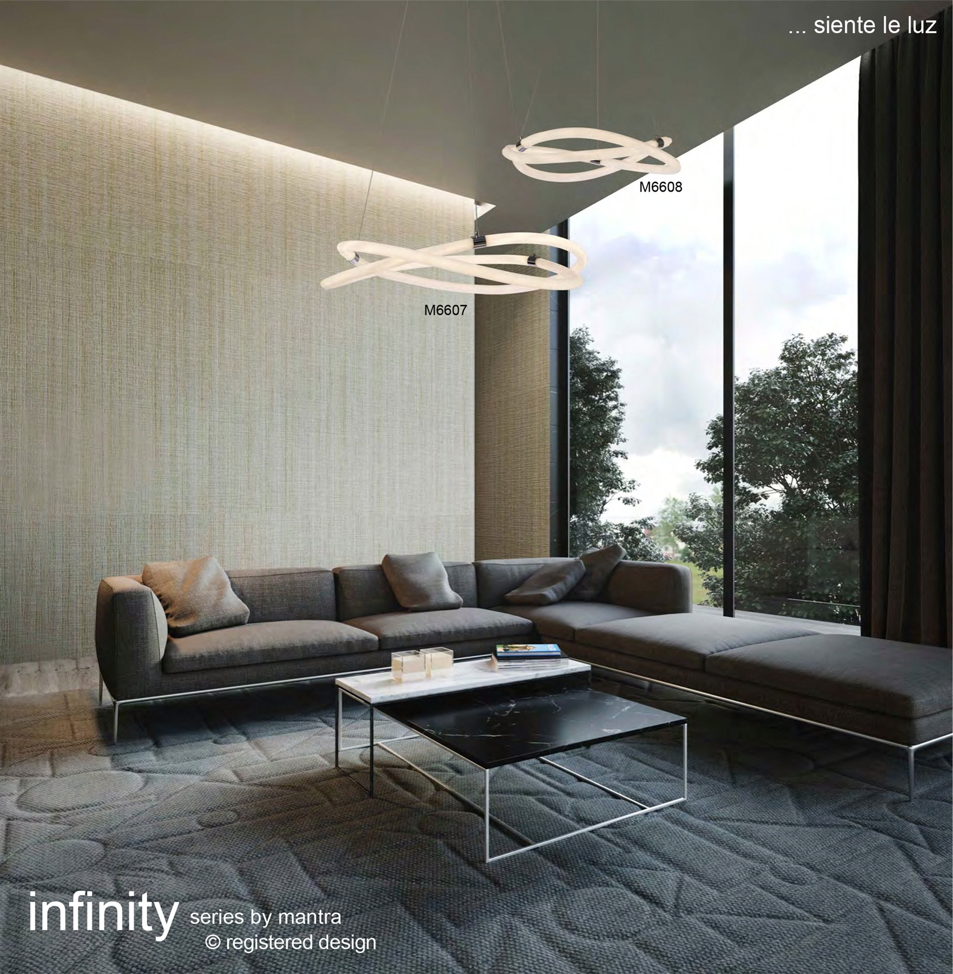 Infinity 2 Ceiling Lights Mantra Modern Ceiling Lights