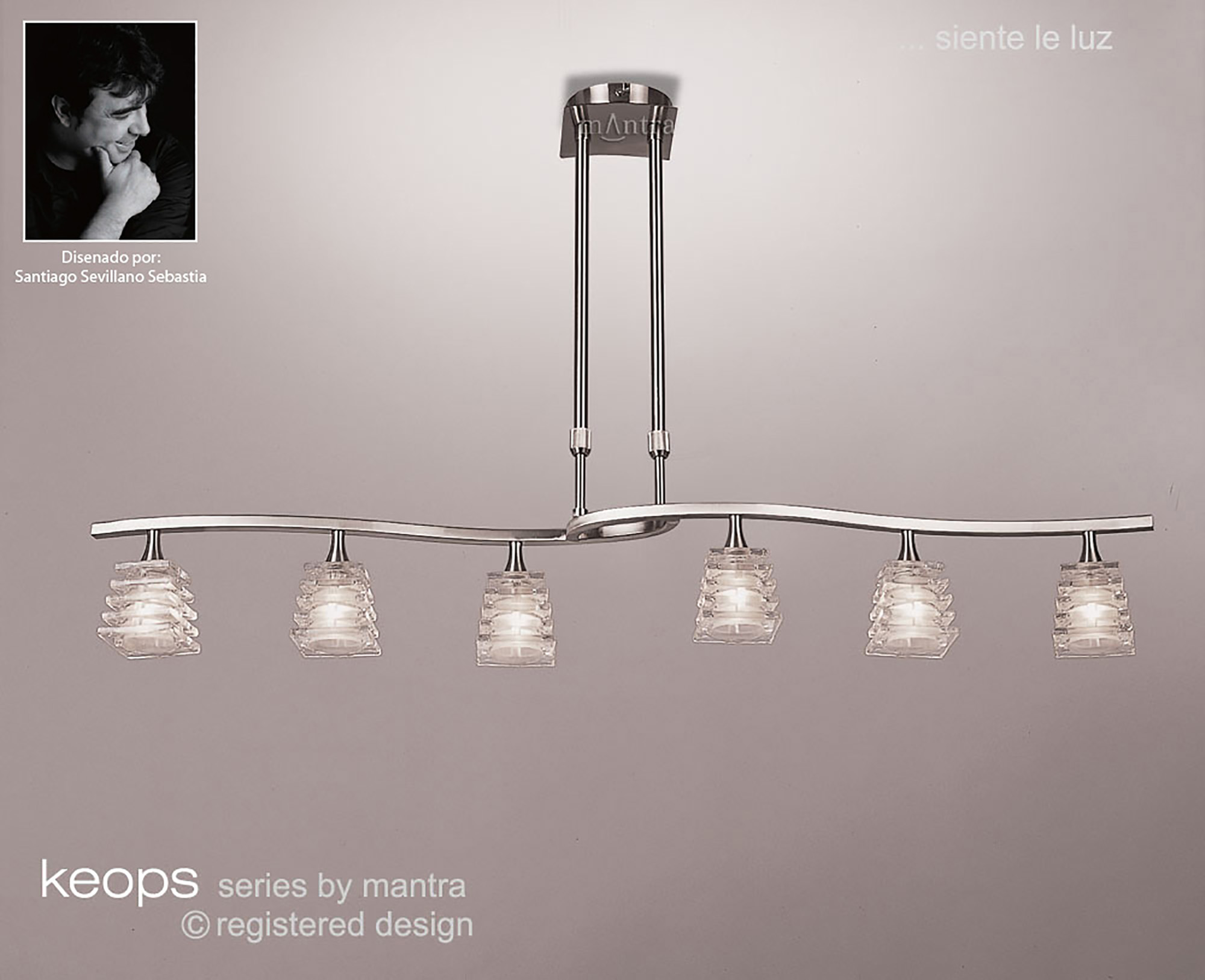Keops Ceiling Lights Mantra Surface Spot Lights