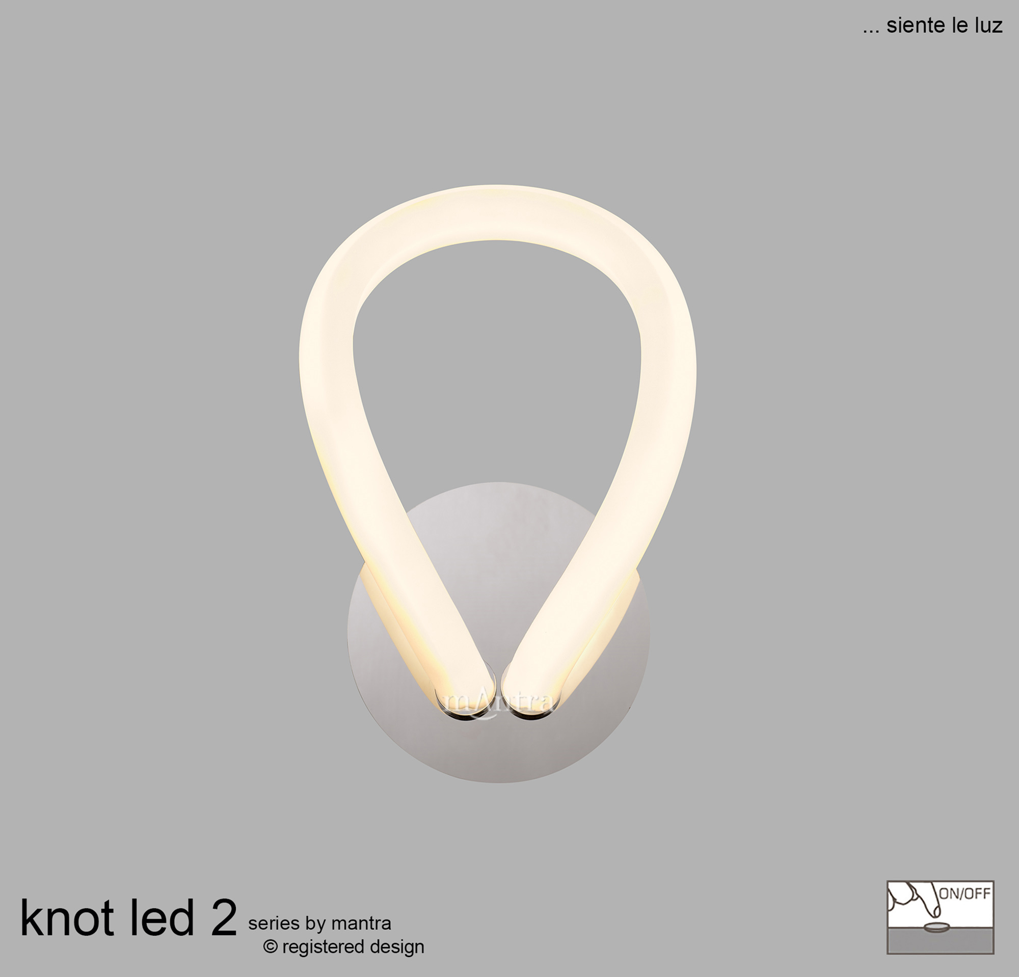 Knot LED II Wall Lights Mantra Modern Wall Lights