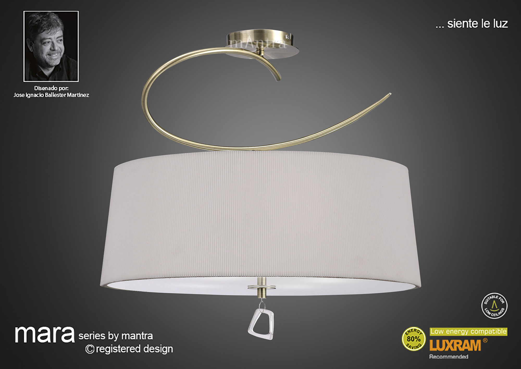 Mara AB Ceiling Lights Mantra Contemporary Ceiling Lights