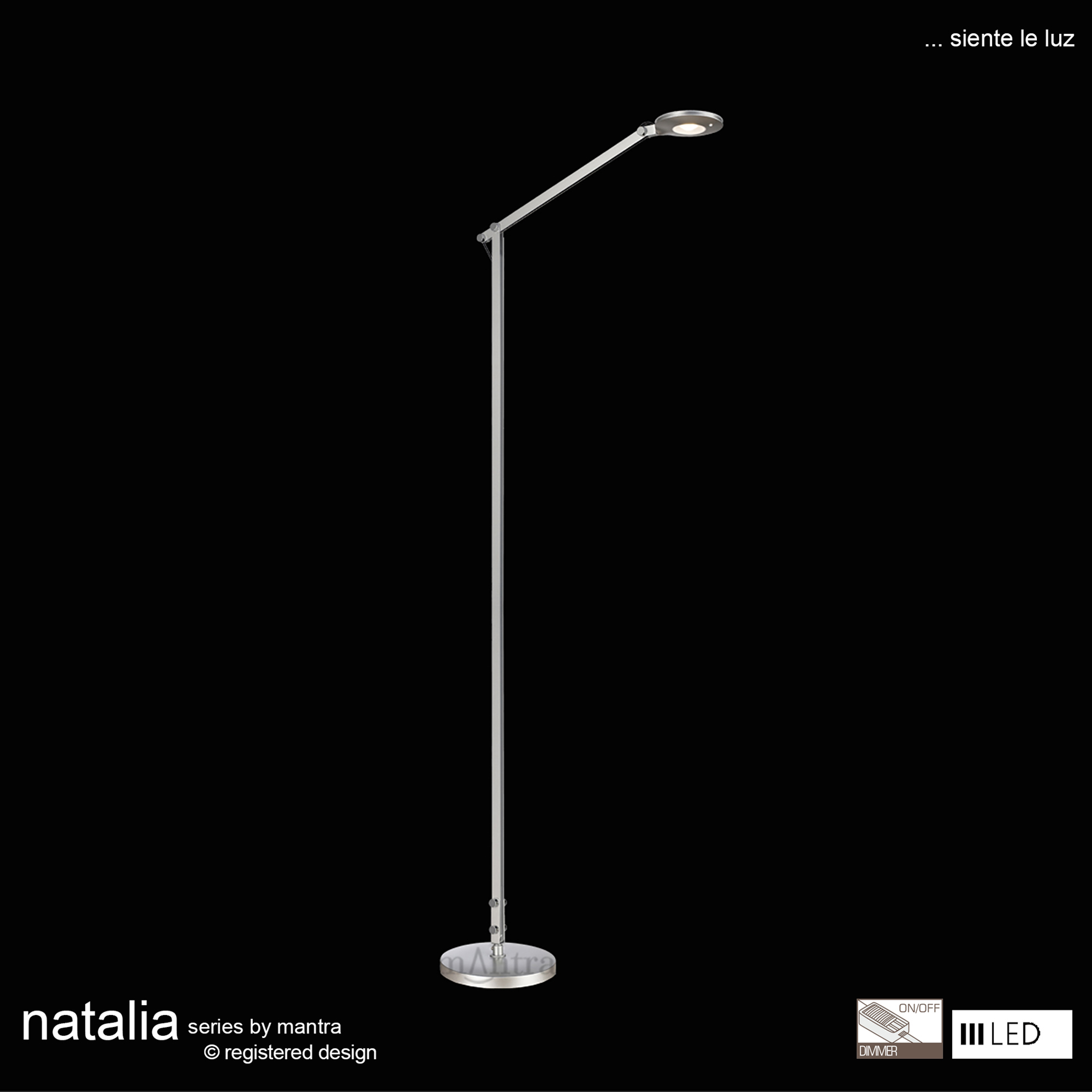 Natalia Floor Lamps Mantra Fusion Contemporary Floor Lamps
