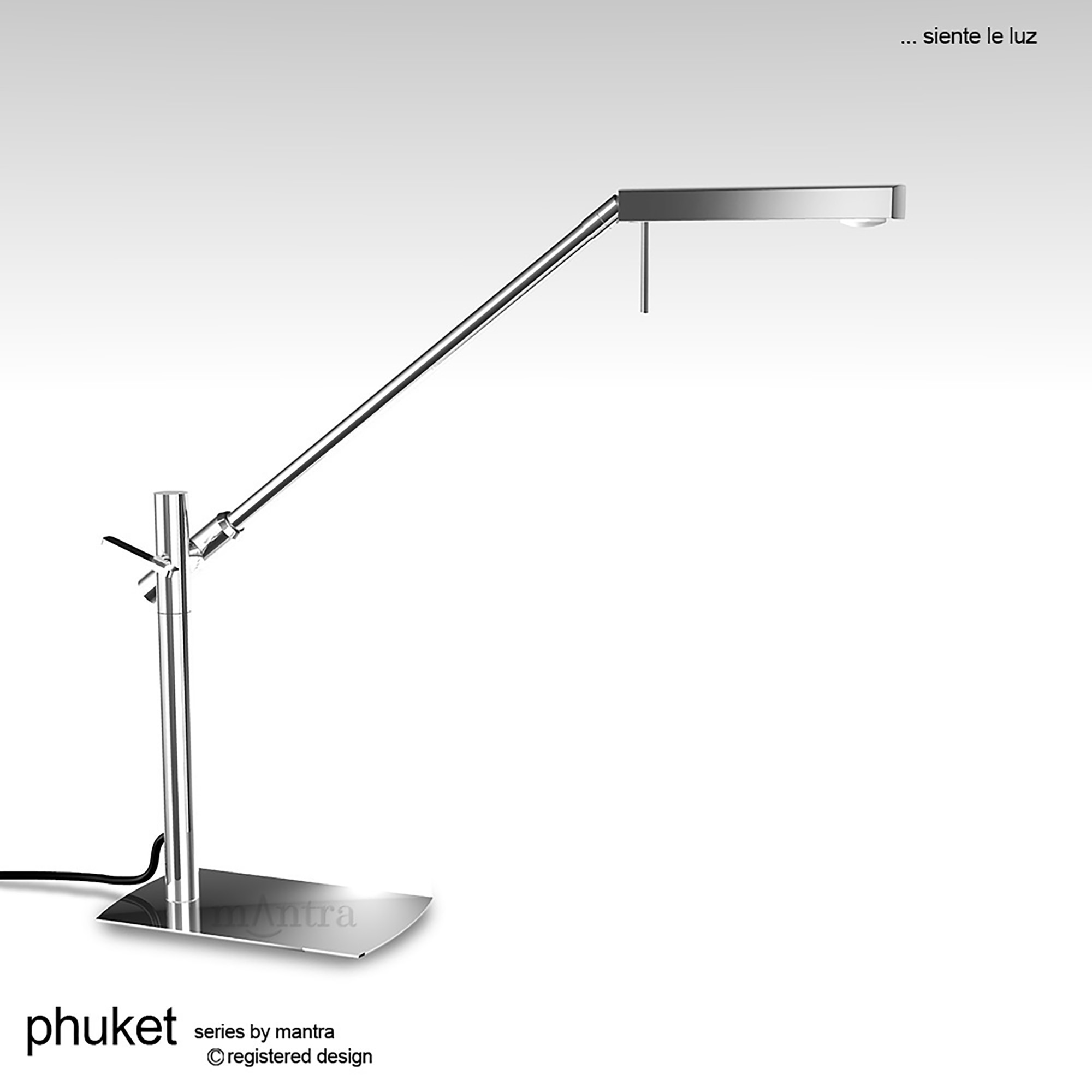 Phuket PC Table Lamps Mantra Contemporary Table Lamps