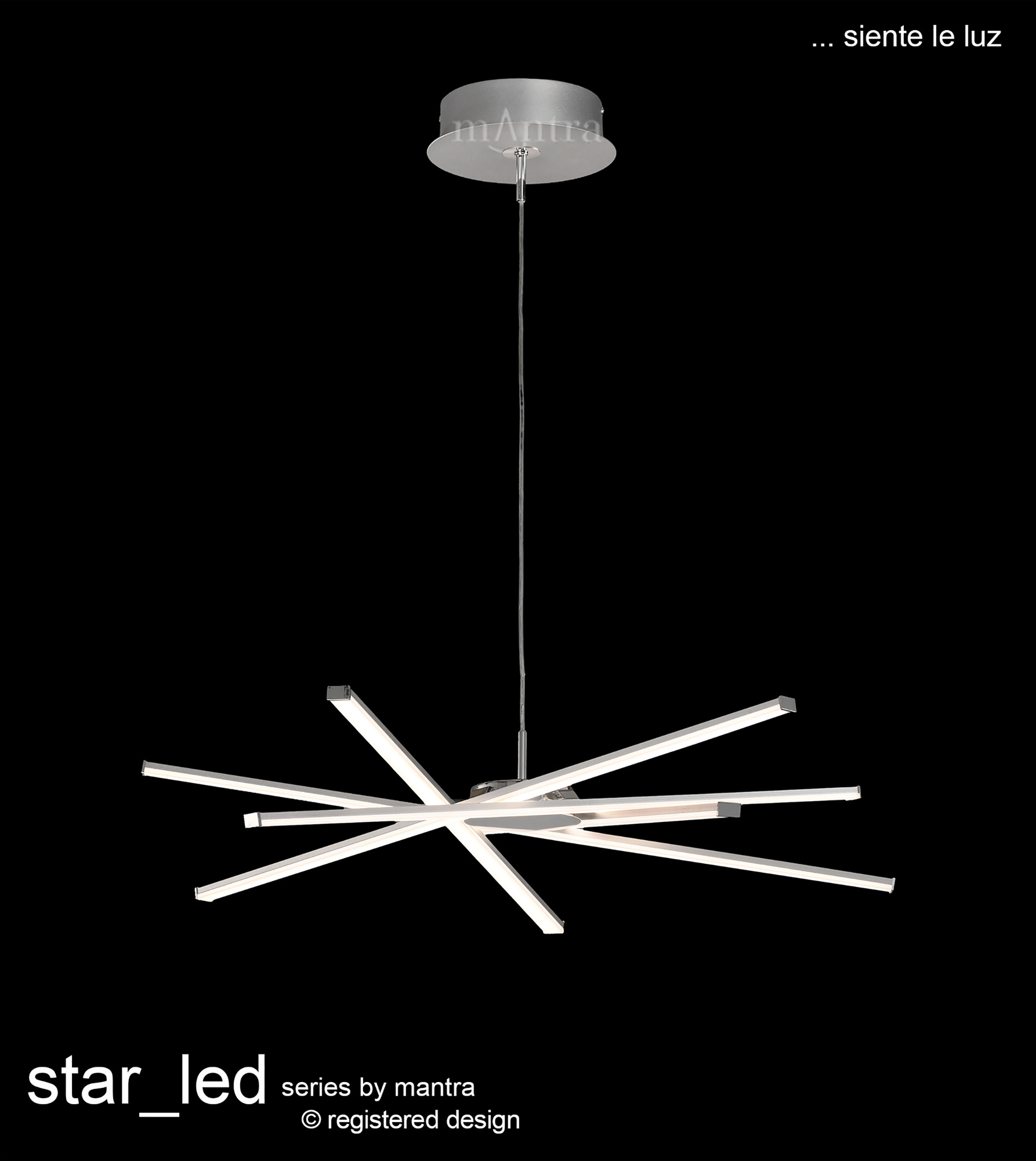 Star LED Ceiling Lights Mantra Modern Ceiling Lights