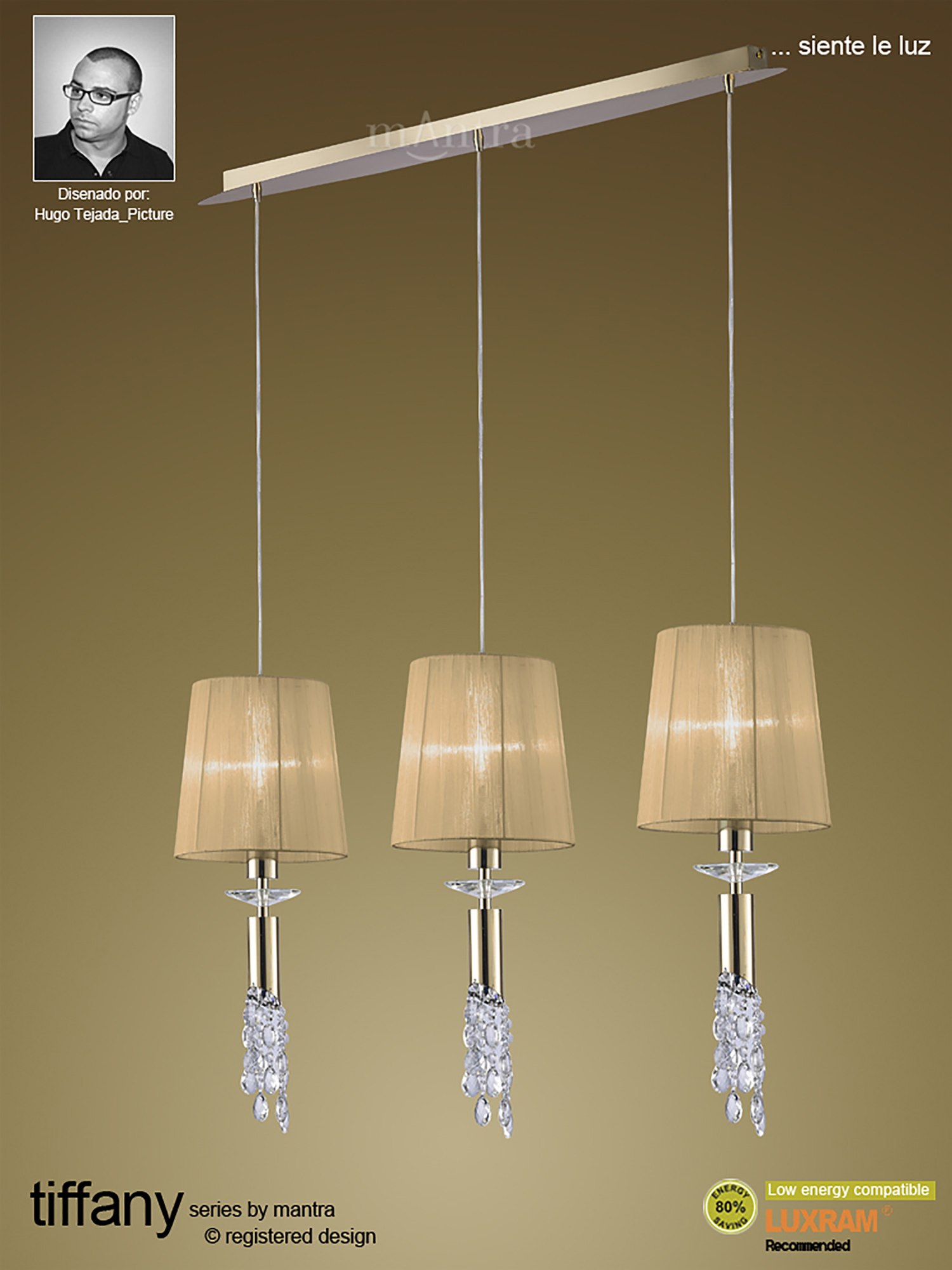 Tiffany FG Crystal Ceiling Lights Mantra Contemporary Chandeliers