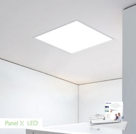 X2 Panel LED Recessed Ceiling Luminaires Techtouch Square/Rectangular Recess Ceiling