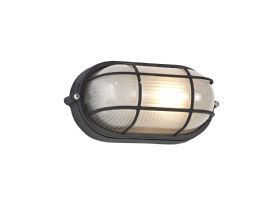 D0480  Avon Oval Wall Lamp 1 Light IP44 Outdoor