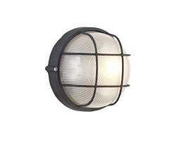 D0482  Avon Round Wall Lamp 1 Light IP44 Outdoor