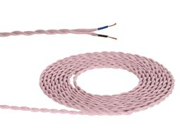 D0540  Cavo 1m Braided Twisted 2 Core 0.75mm Cable