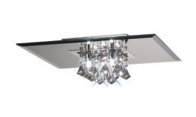 Theo Crystal Ceiling Lights Deco Flush Crystal Fittings