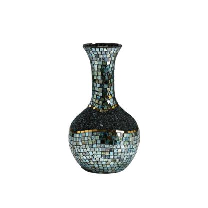 Addison Mosaic Art Glassware Diyas Home Vases