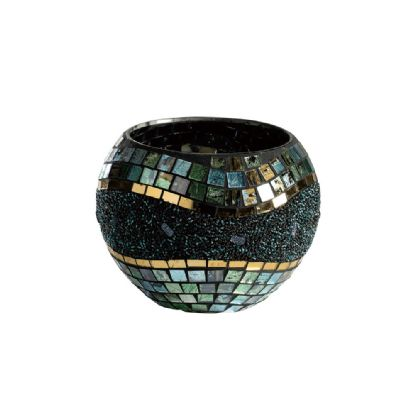 Addison Mosaic Art Glassware Diyas Home Tea Light Holders