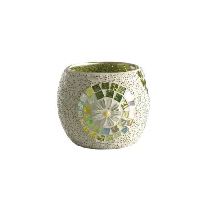 Floretta Mosaic Art Glassware Diyas Home Tea Light Holders