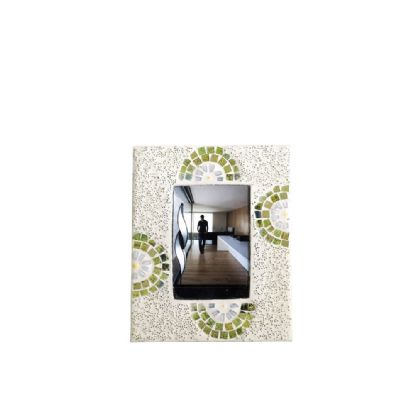 Floretta Mosaic Art Glassware Diyas Home Photo Frame