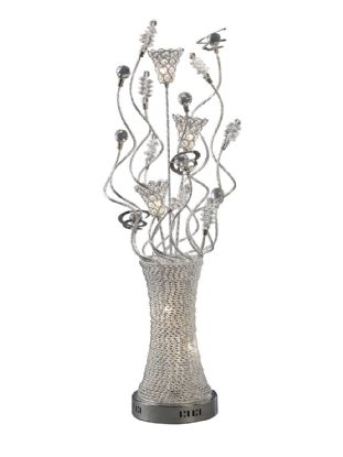 Kristal Aluminium Crystal Table Lamps Diyas Home Modern Crystal Table Lamps