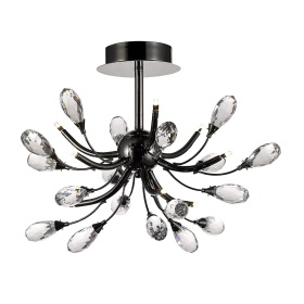 Anita Crystal Ceiling Lights Diyas Modern Crystal Ceiling Lights