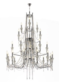 Armand Crystal Ceiling Lights Diyas Modern Chandeliers