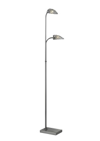 Ashton Crystal Floor Lamps Diyas Contemporary Crystal Floor Lamps