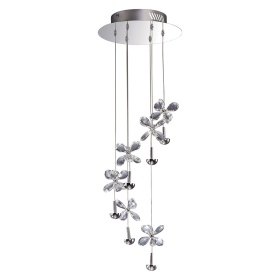 Aviva Crystal Ceiling Lights Diyas Multiple Crystal Pendants