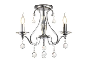 Bianco Crystal Ceiling Lights Diyas Contemporary Crystal Ceiling Lights