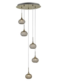 Chelsie Ceiling Lights Diyas Multiple Pendant