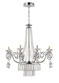 Eden Crystal Ceiling Lights Diyas Contemporary Chandeliers