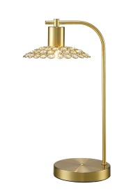 Ellen Crystal Table Lamps Diyas Contemporary Crystal Table Lamps