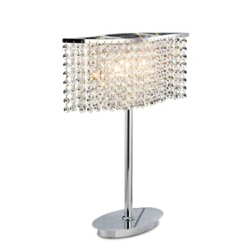 Fabio Crystal Table Lamps Diyas Modern Crystal Table Lamps