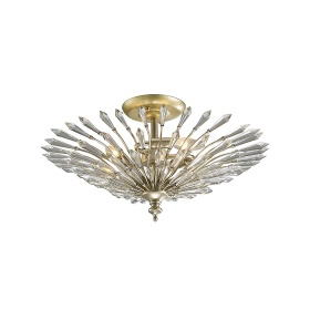 Fay Crystal Ceiling Lights Diyas Contemporary Crystal Ceiling Lights