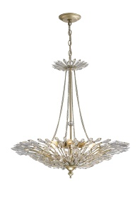 Fay Crystal Ceiling Lights Diyas Contemporary Chandeliers