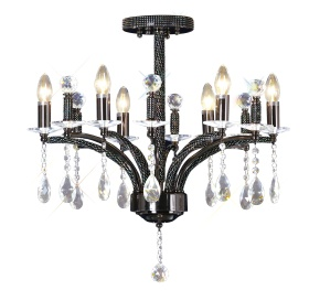 Fiore Crystal Ceiling Lights Diyas Contemporary Crystal Ceiling Lights