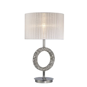 Florence Crystal Table Lamps Diyas Modern Crystal Table Lamps