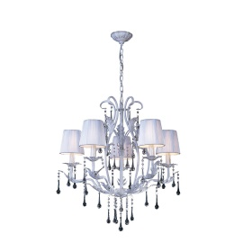 Flur Crystal Ceiling Lights Diyas Contemporary Chandeliers