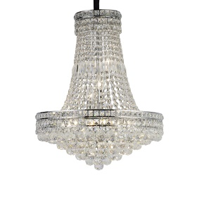 Frances Crystal Ceiling Lights Diyas Contemporary Chandeliers
